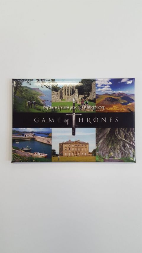 Game of Thrones Fridge Magnet / Northern Ireland Scenery